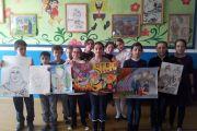 Выставка в Детской школе искусств №7