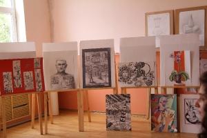 Экзамен художественного отделения ДШИ №7